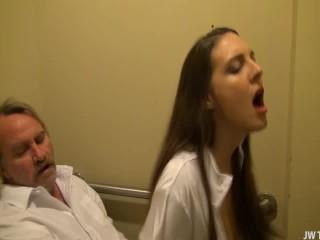 Nurse Sadie Holmes Fucks Patient For Sperm Sample LR Daddys Dirty Girls
