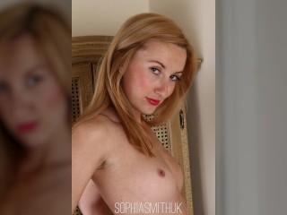 Hot Blonde Secretary Stockings Strip