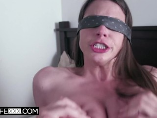 Hubby offers his hotwife Brooklyn Chase to a friend