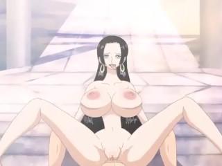 One Piece - Boa Hancock Hentai Anal Sex with Luffy POV