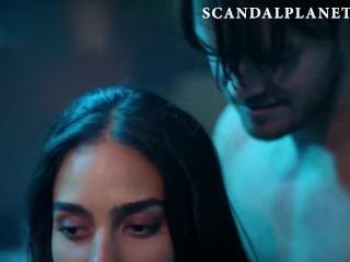 Melissa Barrera & Tru Collins Nude Group Sex from Vida On ScandalPlanet.Com