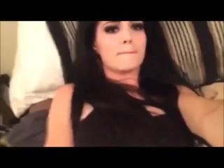 WWE diva Paige masturbating