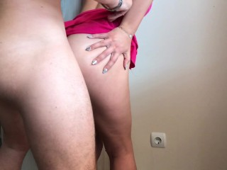 Petite step sister seduce me to fuck her ass ANAL CREAMPIE