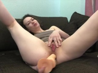 1.Masturbating my big hole in my ass