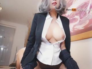 出差的时候跟老板做爱,是做秘书的责任与义务
