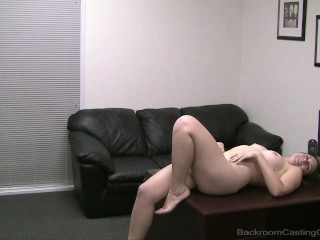 Get On Your Knees. Start By Sucking My Cock. Cute Porn Virgin Piper Debuts!