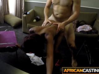 Huge dick hardfucks petite ebony