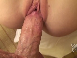 Teen with Big Boobs Rides a Thick Dick and Gets a Facial
