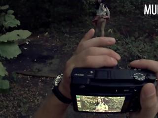 Развел студентку на интимные фотки и выебал в лесу || Часть 1 || Murstar