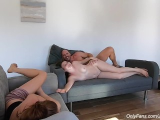 Johnny Sins - Fucks Teen Tinder Chick Beside Roommate!