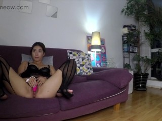 """PornHub Birthday Gift """"MEOWMEOW LONG EDITION CASTING COUCH"""" my first time making AV"""