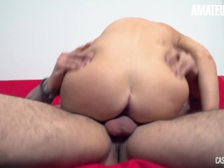 CastingFrancais - Big Tits Canadian Teen Newbie First Erotic Pussy Fuck On Camera - AMATEUREURO