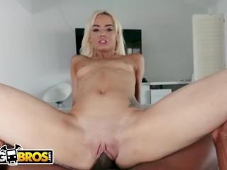 BANGBROS - Teen Elsa Jean Compilation: Petite Girl Stuffed With Big Cocks!