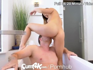 CUM4K Piles Of Cum Blown Deep Inside Multiple Tight Pussies