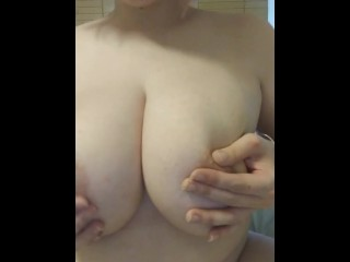 Chubby cowgirl rides your dick (POV)