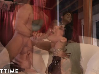 ADULT TIME Gina Valentina Fed Creampie After Insanely Hot Fuck!