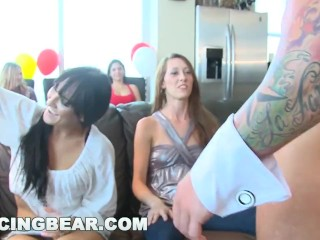 DANCING BEAR - Wild and Crazy Dancing Bear CFNM House Party!